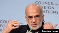 El ministro de Relaciones Exteriores iraquí, Ibrahim Al-Jaafari.