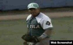 El pitcher cubano Jorge Despaigne (Toronjeros de la Isla de la Juventud).