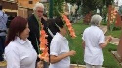 Exiliados rinden homenaje a Martí