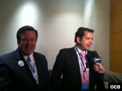 Delegados de Puerto Rico en convención demócrata