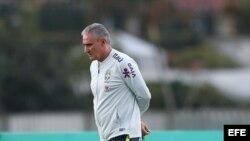 El director técnico de la selección brasileña de fútbol Tite