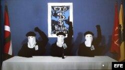 """Imagen capturada de la página digital del diario """"Gara"""" en la que se publicaba un comunicado de la organización terrorista ETA. Archivo."""