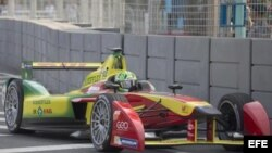 El brasileño Lucas di Grassi gana el primer Gran Premio de la Historia de la Fórmula E.