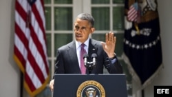 Presidente de Estados Unidos, Barack Obama, el viernes 15 de junio de 2012