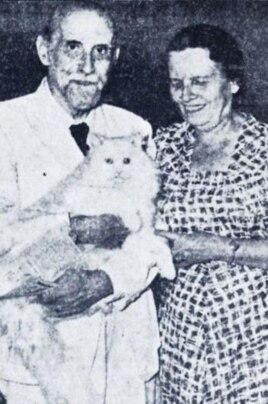 Juan Ramón Jiménez y Zenobia Camprubí en Puerto Rico.