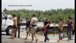 Balseros cubanos recién llegados: Irse en balsa es un desafío a la muerte