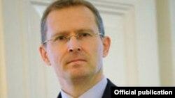 Antony Stokes, embajador del Reino Unido de Gran Bretaña en Cuba.