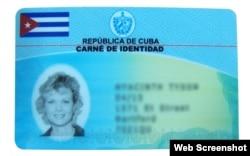 Nuevo carné de identidad