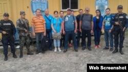 Diez cubanos detenidos en Ocotepeque, Honduras el 27 de agosto