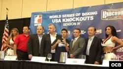 Domadores de Cuba en el Mundial de Boxeo