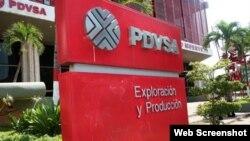 Oficinas centrales de PDVSA, Caracas, Venezuela.
