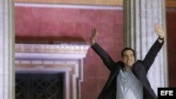 Alexis Tsipras, líder del partido de izquierda Syrisa.