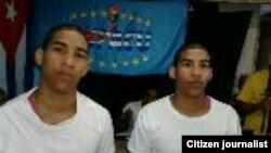 Diango Vargas Martin y Bianko Vargas Martin.