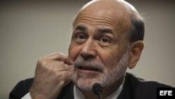 Bernanke dijo que la economía estadounidense crecerá entre el 2,2 y 2,8 por ciento en 2013, cifras menores a lo previsto a principio de año.