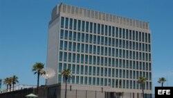 Oficina de Intereses de Estados Unidos en La Habana.