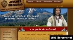 Fachada: La supuesta ONG Fundación Internacional de Jóvenes Indígenas de Colombia se dedicaba a contactar a migrantes cubanos.