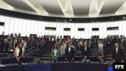 Miembros del Parlamento Europeo.