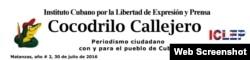 Cocodrilo Callejero