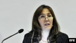 Mariela Castro, hija del general cubano Raúl Castro.