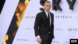 """El actor británico Daniel Craig en la premiere de """"Skyfall"""" en Berlín, Alemania."""