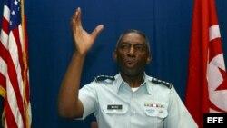 El general estadounidense William Ward es el primer jefe del Comando de África (AFRICOM)