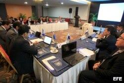 Directores de los servicios de migración de Centroamérica participan de la XLII Reunión Ordinaria de la Comisión Centroamericana de Directores de Migración (OCAM).