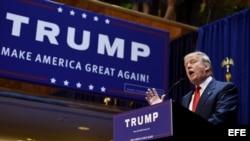 El magnate estadounidense Donald Trump.