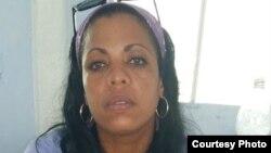 Jaqueline Heredia Morales, detenida en la prisión San José, La Habana. Cortesía Serafín Morán.