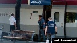 Ataque terrorista en tren Thalys Amsterdam Paris