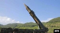 Misil de Corea del Norte. EFE