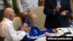 En la clausura del 7mo congreso del PCC, en abril de 2016, Fidel Castro previó que su hora estaba cerca.