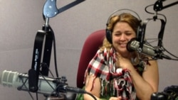 La actriz cubana Judí González en Tempranito los Sábados