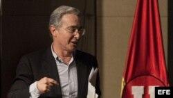 Foto de archivo del expresidente de Colombia, Álvaro Uribe Vélez.
