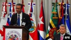 Funcionarios de la OEA