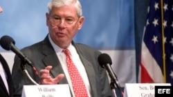 El ex senador de Florida Bob Graham, miembro de la comisión presidencial que investiga las causas del vertido de BP.