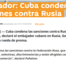 Embajador Gerardo Peñalver, embajador de Cuba en Rusia