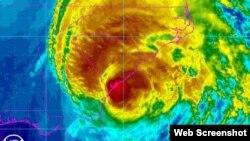 Huracán Matthew. NOAA