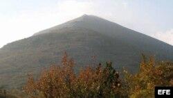 La montaña Rtanj en Serbia