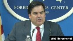 Francisco Palmieri, sub secretario de Estado adjunto de EEUU para Latinoamérica