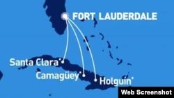 JetBlue vuelos a Cuba