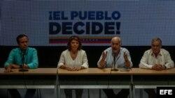 Expresidentes piden a hemisferio reconozca legitimidad de consulta venezolana