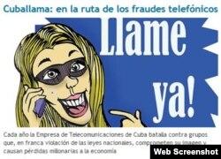 Artículo contra Cuballama publicado en el Juventud Rebelde.