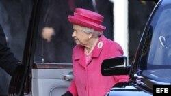 La reina Isabel II de Inglaterra. (