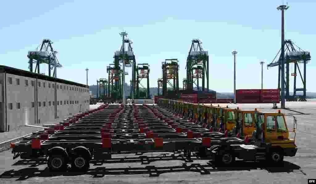 La terminal de contenedores del puerto del Mariel es considerada como el primer cliente de la ZEDM.