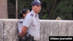 Vigilancia policial. Archivo.