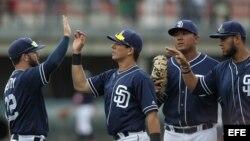 Jugadores de Padres de San Diego.