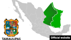 Ubicación geográfica del Estado de Tamaulipas, México