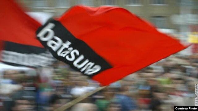 Manifestación de partidarios de Batasuna