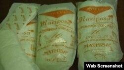 MATHISA monopoliza la producción de almohadillas sanitarias en Cuba.