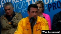 Henrique Carpiles en conferencia de prensa 2/24/14